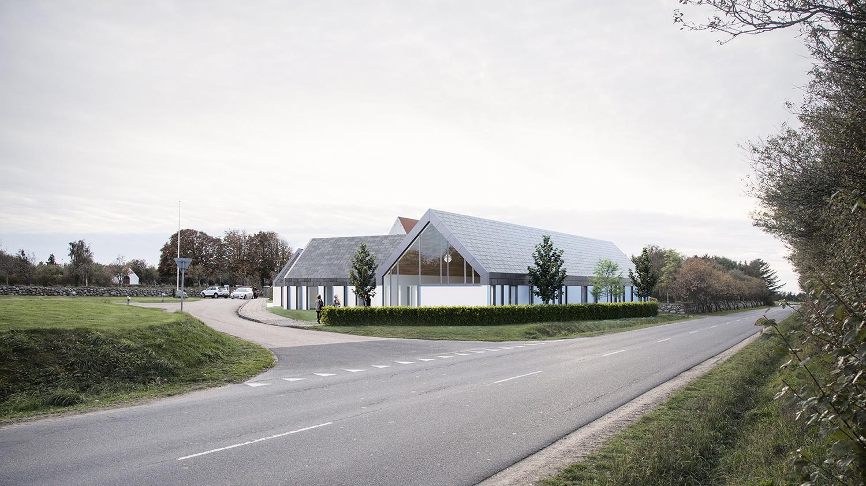 Jetmark Kirkecenter ankomstområde
